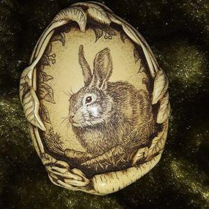 Vintage Bunny Brooch by R. H. Badeau